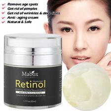 Retinol 2.5% Vitamina E Crema Facial Té verde Suero Piel Antiarrugas Hidratante