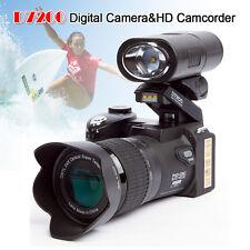 POLO D7200 Digital Cameras 33MP DSLR+Flash+Lens Wide Angel Lens+Telephotos Len
