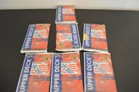 LOT OF 7 UNOPENED UPPER DECK 1994 WORLD CUP TRADING CARDS