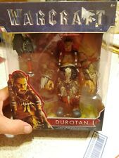 "CIB Jakks Durotan World of Warcraft 6"" Action Figure w/Axe Sealed"