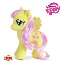 """My Little Pony Fluttershy Sparkle Plush Pony Aurora World 7"""" Toy Girls Gift"""
