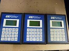 lot of 3 USFilter ILK-OI3000 rev A1 LCD keypad operator interface panels [N-0]