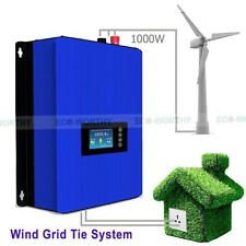 1000W Wind Power Grid Tie Inverter DC/AC 22V-65V 3 Phase Windmill Turbine