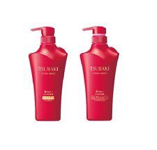 2016 Sep NEW! JAPAN Shiseido TSUBAKI Extra Moist 500ml Shampoo & Conditioner Set