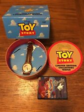 Disney Toy Story Movie Limited Edition Watch In Round Tin