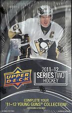 2011-12 Upper Deck Series 2 Factory Sealed Hockey Hobby Box