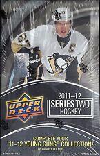 2011-12 Upper Deck Series 2 Factory Sealed Hockey Hobby Box