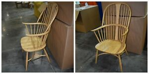 Ercol Originals  7911ST  Chairmakers Chair in STRAW  ASH  Finish - FREE DELIVERY
