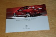 Mercedes CLK Coupe & Cabriolet Genuine Accessories Brochure 2005-2006