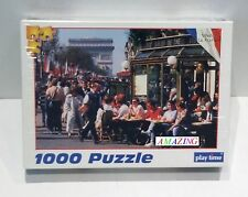 VIVE LA FRANCE - CHAMPS ELYSEES STREET SCENE, PARIS - 1000 PIECE JIGSAW PUZZLE
