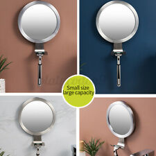 Fogless Shaving Shower Mirror Bathroom Anti-Fog Makeup Mirror Travel UK Bendy