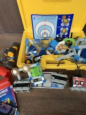 Vintage 1980's Fisher Price Construx space building toys Construction Set Lot