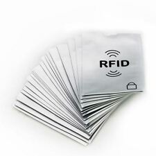 10 x RFID Secure Sleeve Credit Card Case Holder Blocking Protector Anti Theft