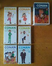 CONAN IL RAGAZZO DEL FUTURO Collector's Box Serie Completa 7 DVD NUOVI SIGILLATI