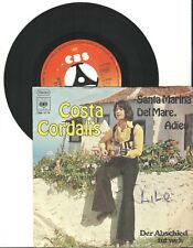 """Costa Cord Ali, Santa Marina del mare, addio, G/VG, 7"""" single, 9-1267"""