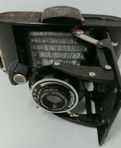 Voigtländer Folding Camera Anastigmat Voigtar 1.7 Braunschweig Bellows 1930s