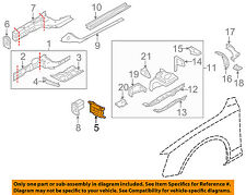 AUDI OEM 08-16 A5 Quattro Fender-Extension Bracket Right 8K0806114