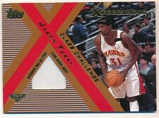 JASON TERRY 2001/02 TOPPS XPECTATIONS CLASS CHALLENGE HAWKS RELIC JERSEY SP