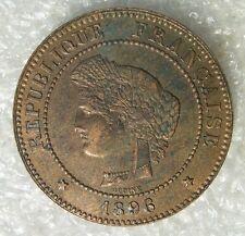 5 centimes 1896 A   CERES