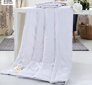 fashion 100% Silk Comforter Mulberry Filled Comforter Silk Duvet Quilt Blanket