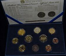 Malta KMS 2012 im Etui mit 2 Euro Sondermünze mit Münzzeichen