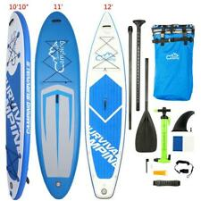10Ft 11Ft 12Ft Inflatable SUP Stand Up Fin Paddle Board & Kayak 2 in 1 Surfboad