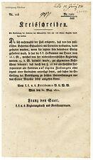 K.u.K. Kreisschreiben, Mai 1821, Lotterien in Verbindung mit Schauspielen