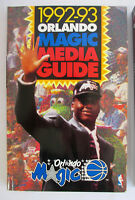 1992-93 Orlando Magic Media Guide SHAQUILLE O'NEALL Full Color Shaq Oneil 1993
