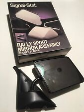 7576 SIGNAL-STAT RALLY SPORT MIRROR ASSEMBLY, RUGGED PLASTIC, COMPLETE PACKAGE,
