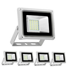 5X 20W Led Flood Light Outdoor Garden Spotight Lamp Cool White Floodlights110V