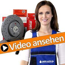 Zimmermann sport freins Kit set + 4 Disques de frein + 8 plaquettes de freins + vo + Hi