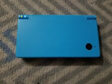 Nintendo DSi - Light Blue - No Charger - Tested - with loaded gold r4i card