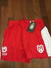 Melbourne Heart ISC Supporter Shorts Size Large Brand New Official Merchandise
