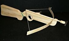 Cross bow and arrows. Archery. Toy. Wooden