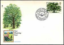 GB FDC 1973 British Trees, Bishops Stortford H/S #C41976