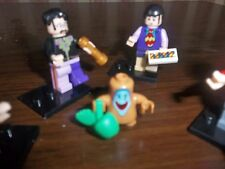 THE BEATLES MINI FIGURES SIMILAR TO THE LEGO YELLOW SUBMARINE BOX SET ONES FAB!