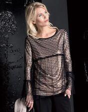 ELISA CAVALETTI Shirt/Pullover Rame Gr. S (36), M (38) *Koll. HW17/18*