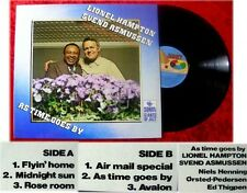 LP Lionel Hampton & Svend Asmussen: As Time Goes By