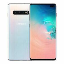 Samsung Galaxy S10+  SM-G975F/DS - 128 Go - Blanc Prisme (Désimlocké) (Double SIM)