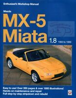 MIATA SHOP MANUAL SERVICE REPAIR BOOK MX5 1.8 MAZDA WORKSHOP ENTHUSIAST GUIDE
