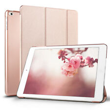"""Rose Gold Slim Leather Folding Magnetic Smart Case Cover For iPad 9.7"""" 2017"""