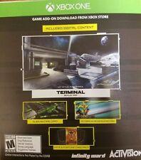 Call of Duty Infinite Warfare Terminal Bonus Map Alien Gun Camo Xbox One DLC!