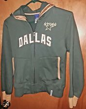Reebok Boys Dallas Stars Green Sweatshirt w Gold & White Letters Size Larg( 14)