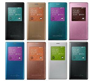 Original SAMSUNG S View Cover EF-CG800 für Galaxy S5 mini SM-G800F