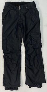 Burton Dryride Snow Pants Womens Small Black Snowboard Skiing Bottoms