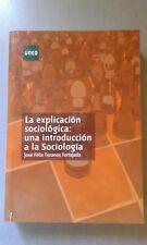 Introducción Sociología - UNED