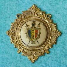 KNIGHTS OF PYTHIAS Golden Medal Badge - VINTAGE Ornate MC Lilley Columbus Ohio