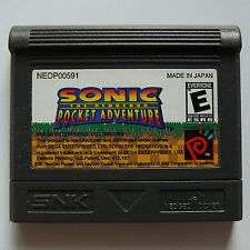 Neo Geo Pocket Color Sonic the Hedgehog Pocket Adventure Game Region Free -- New