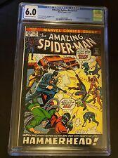 The Amazing Spider-Man #114 (Nov 1972, Marvel) CGC Certified 6.0