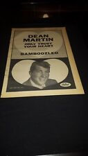 Dean Martin Only Trust Your Heart Rare Original Promo Poster Ad Framed!